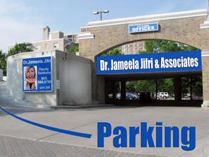 Huron Dental Centre Parking Upper Level