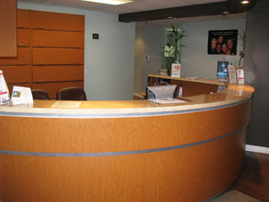 Huron Dental Centre Reception