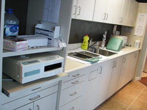 Huron Dental Centre Sterilization Room