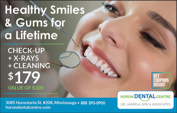 Dental healthy Smile offer in Mississauga, Ontario area